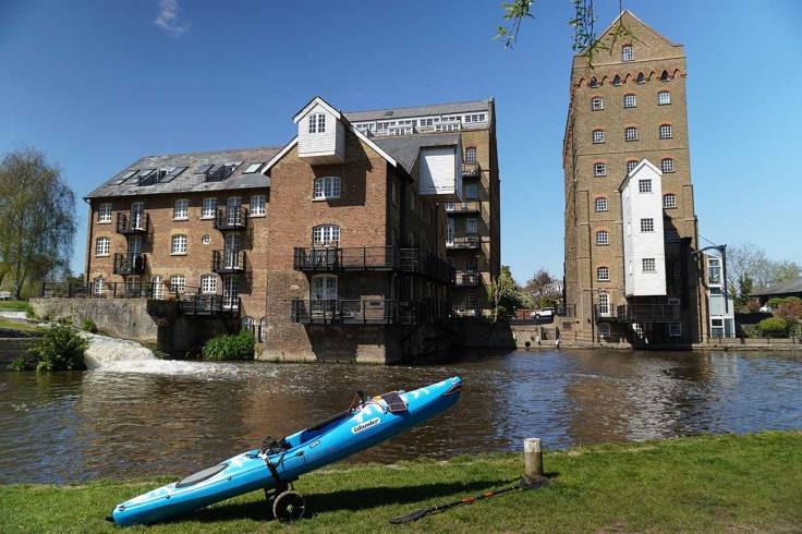 Coxes Mill, River Wey